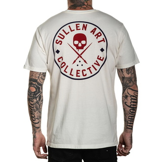 Męski t-shirt SULLEN - EVER PATRIOT - ANTYK WHITE, SULLEN