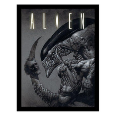 obraz Alien - Head on Tail - PYRAMID POSTERS, PYRAMID POSTERS, Alien