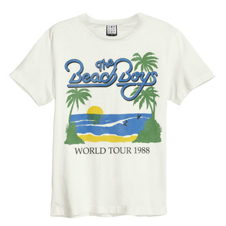 koszulka męska THE BEACH BOYS - 1988 TOUR - VINTAGE WHITE - AMPLIFIED, AMPLIFIED, Beach Boys