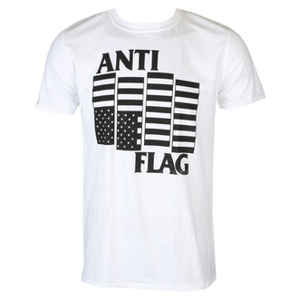 koszulka męska Anti Flag - Black Flag - White - KINGS ROAD, KINGS ROAD, Anti-Flag