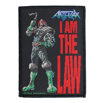 naszywka Anthrax - I Am The Law - RAZAMATAZ, RAZAMATAZ, Anthrax