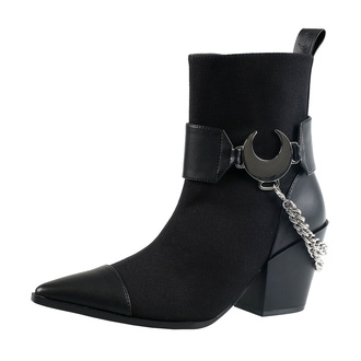 buty damskie KILLSTAR - Luna - BLACK, KILLSTAR