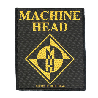 naszywka Machine Head - Diamond Logo - RAZAMATAZ, RAZAMATAZ, Machine Head