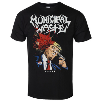 koszulka męska Municipal Waste - Trump- black - ART WORX, ART WORX, Municipal Waste