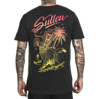 Męski t-shirt SULLEN - DEAD TIRED - VINTAGE BLACK, SULLEN