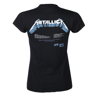 Damski t-shirt METALLICA - MASTER OF PUPPETS - TRACKS - BLACK - PLASTIC HEAD, PLASTIC HEAD, Metallica