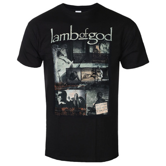 koszulka męska Lamb Of God - Album Collage - ROCK OFF, ROCK OFF, Lamb of God
