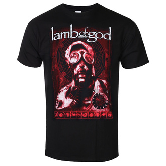 koszulka męska Lamb Of God - Gas Mask Waves - ROCK OFF, ROCK OFF, Lamb of God
