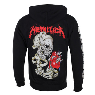 bluza męska Metallica - Heart Explosive, ROCK OFF, Metallica