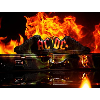 buty DC - AC/DC - HIGHWAY TO HELL - BLACK GRADIENT, DC, AC-DC