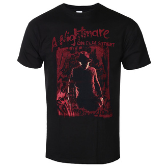 koszulka męska Nightmare On Elm Street - Freddy Silhouette - Black, BIL, A Nightmare on Elm Street