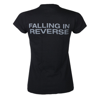 koszulka damska Falling In Reverse - Losing My Life Fitted - Black, KINGS ROAD, Falling In Reverse