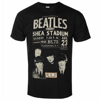 Męski t-shirt Beatles - Shea '66 - ROCK OFF, ROCK OFF, Beatles