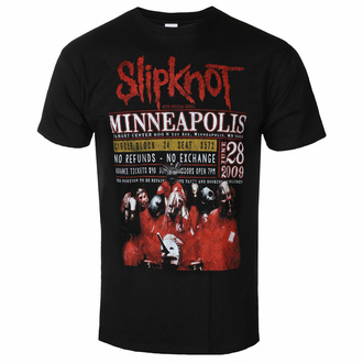 Męski t-shirt Slipknot - Minneapolis '09 - ROCK OFF, ROCK OFF, Slipknot