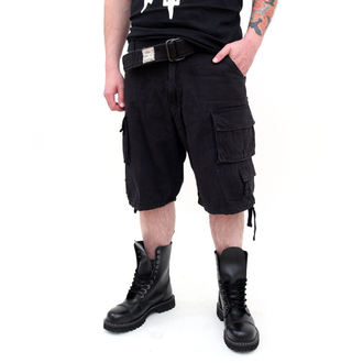 szorty SURPLUS - DIVISION SHORT - BLACK - 07-5598-63
