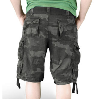 szorty SURPLUS - DIVISION SHORT - NIGHT CAMO - 05-5598-42
