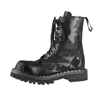 buty STEADY´S - 10 dziurkowe - Black camo, STEADY´S