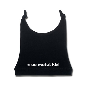 Czapka dziecięca true metal kid in white - black - Metal-Kids, Metal-Kids