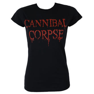 koszulka damska CANNIBAL CORPSE - DRIPPING LOGO - PLASTIC HEAD, PLASTIC HEAD, Cannibal Corpse
