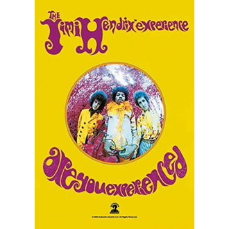 flaga Jimi Hendrix - Are you Experienced, HEART ROCK, Jimi Hendrix
