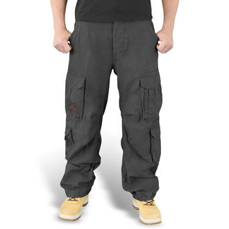 spodnie SURPLUS - Airborne - BLACK - 05-3598-63