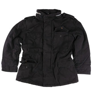 kurtka SURPLUS - M65 JACKE WASHED - BLACK - 20-3500-63