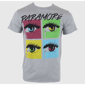 koszulka męska Paramore - Pop Tear Sports Grey - LIVE NARÓD, LIVE NATION, Paramore