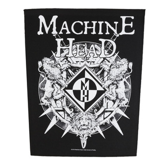 naszywka duża Machine Head - Crest - RAZAMATAZ, RAZAMATAZ, Machine Head