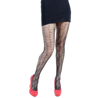 rajstopy PAMELA MANN - Star Net Tights - Black - 112