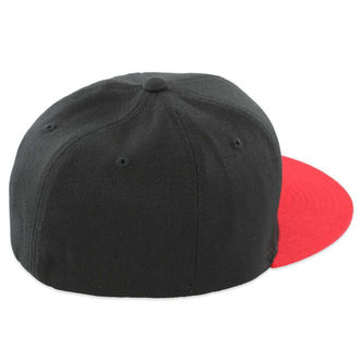 czapka z daszkiem METAL Mulisha - Mass - BLK / RED