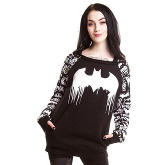 damska bluza POIZEN INDUSTRIES - Graffiti - Batman - Black, NNM, Batman