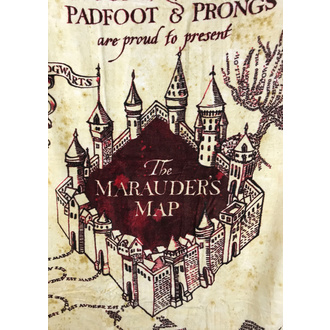 ręcznik Harry Potter - Marauder's Map, NNM