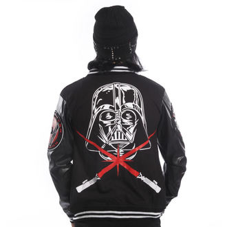 bluza męska DISNEY - STAR WARS - Vader Varcity - Black, DISNEY, Star Wars