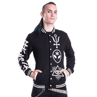 męska bluza bez kaptura - DEALER VARSITY - HEARTLESS, HEARTLESS