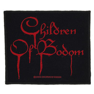 naszywka CHILDREN OF BODOM - BLOOD LOGO - RAZAMATAZ, RAZAMATAZ, Children of Bodom