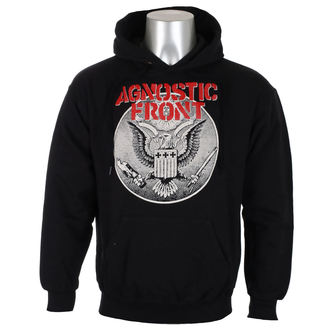 bluza męska AGNOSTIC FRONT - ALL AGAINST ALL - Black - RAGEWEAR, RAGEWEAR, Agnostic Front