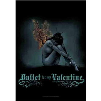 flaga Bullet For My Valentine - Burning Wings, HEART ROCK, Bullet For my Valentine
