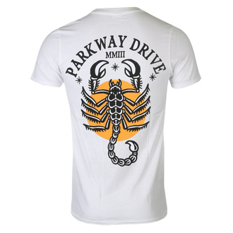 koszulka męska Parkway Drive - Scorpio - White - KINGS ROAD, KINGS ROAD, Parkway Drive