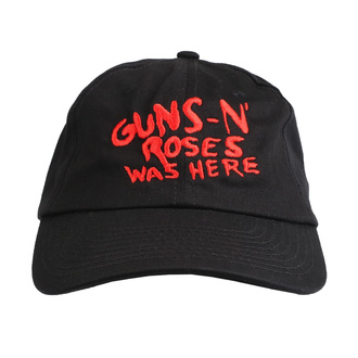 czapka z daszkiem Guns N' Roses - Was Here - ROCK OFF, ROCK OFF, Guns N' Roses