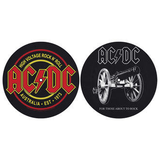 mata gramofonowa (zestaw 2ks) AC/DC - FOR THOSE MOUT TO ROCK - HIGH VOLTAGE - RAZAMATAZ, RAZAMATAZ, AC-DC