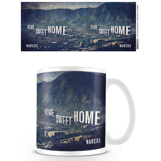 kubek Narcos - Home Sweet Home - PYRAMID POSTERS, PYRAMID POSTERS, Narcos