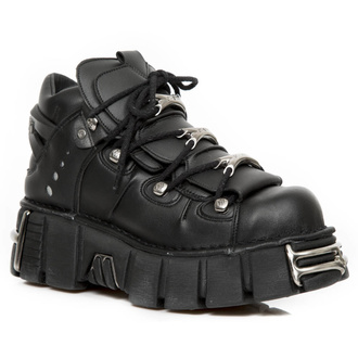 buty NEW ROCK - VEGAN NEGRO, NEW ROCK