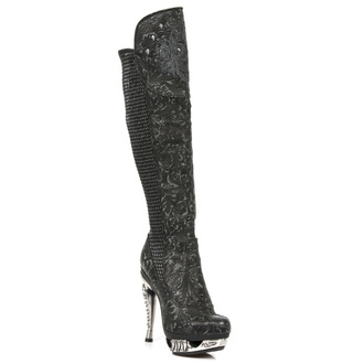 buty NEW ROCK - VINTAGE FLOWER NEGRO, NEW ROCK