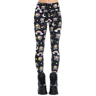 spodnie damskie (legginsy) KILLSTAR - Not Cute - BLACK, KILLSTAR