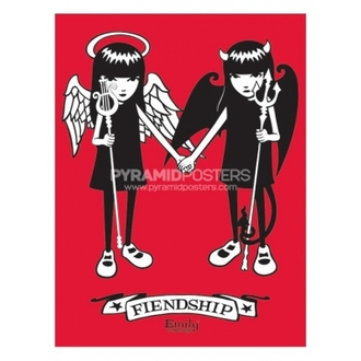 Plakat - Emily The Strange (Fiendship)- PP31164 - Pyramid Posters