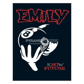 plakat - Emily The Strange (8 Ball) - PP31297 - Pyramid Posters