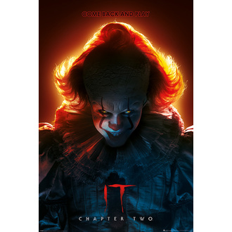 plakat TO 2 - Pennywise - COME BACK AND PLAY - PYRAMID POSTERS, PYRAMID POSTERS