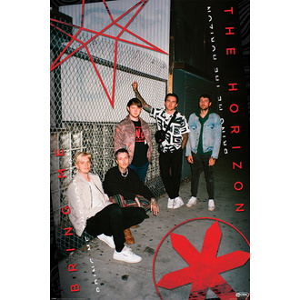 plakat BRING ME THE HORIZON - RED EYE - PYRAMID POSTERS, PYRAMID POSTERS, Bring Me The Horizon