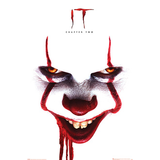 plakat TO 2 - Pennywise face - PYRAMID POSTERS, PYRAMID POSTERS