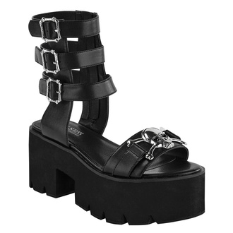 buty damskie KILLSTAR - Sinstress - BLACK, KILLSTAR